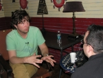 Matt Wertz at HOB on 4/1/11 - backstage interview