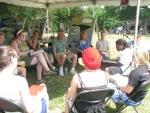 Wild Goose - Art Tent