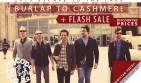 Flash Sale on ETTL'15 + Burlap's Back!