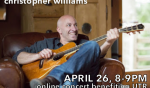 Online Concert with Christopher Williams (APR 26)